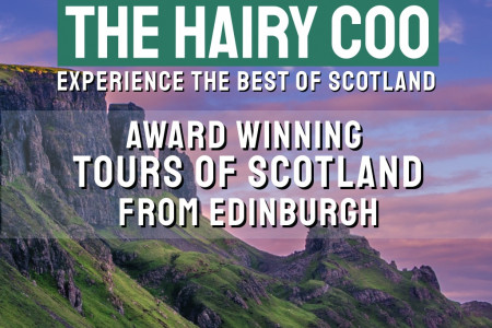 The Hairy Coo - Tours of Scotland Brochure Infographic