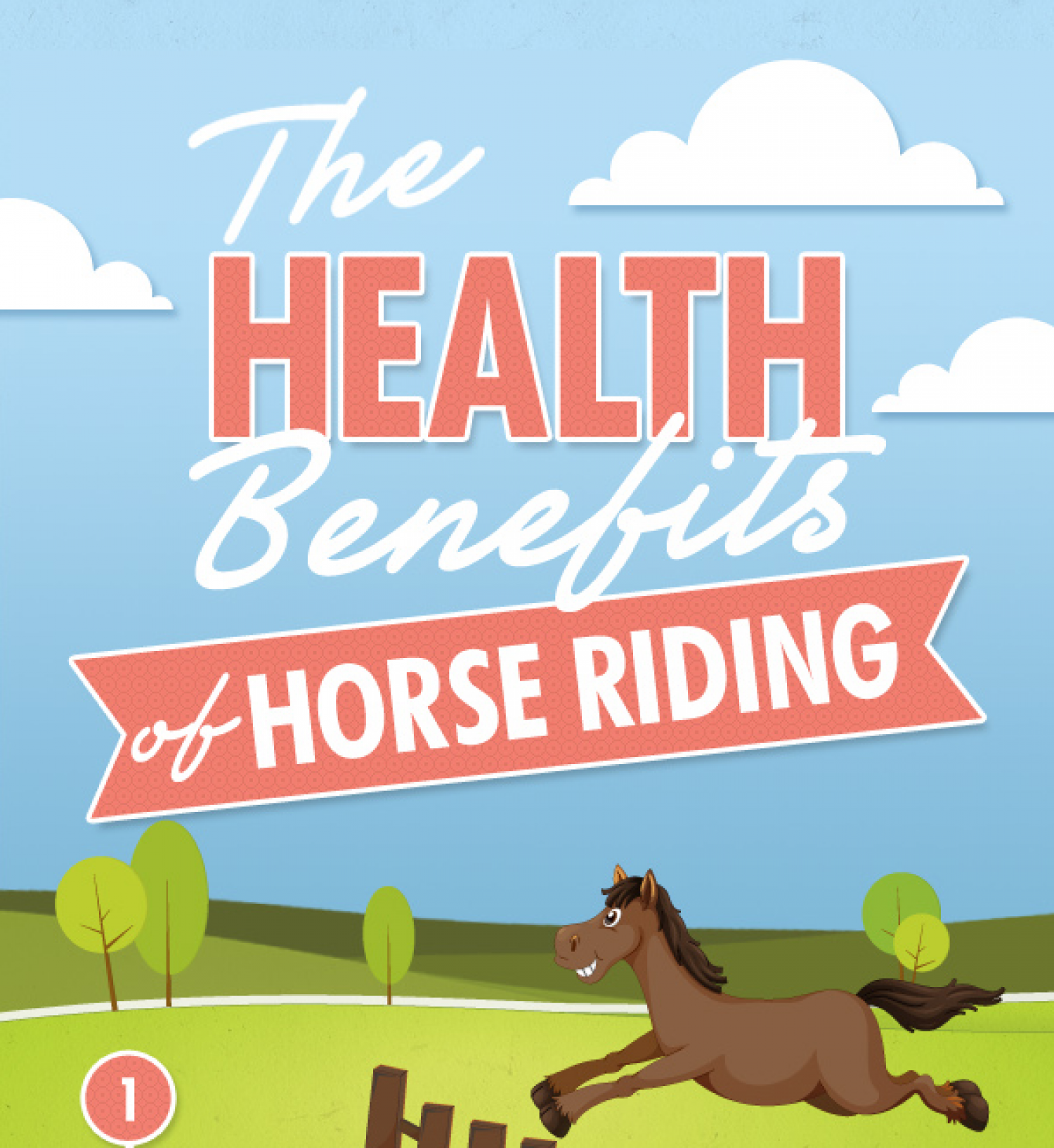 The Health Benefits Of Horse Riding Infographic