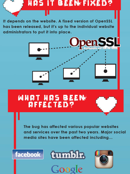 The Heartbleed Bug - What it is and How to Handle it Infographic