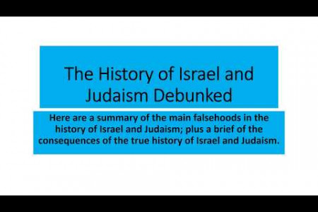The History of Israel and Judaism Debunked Infographic