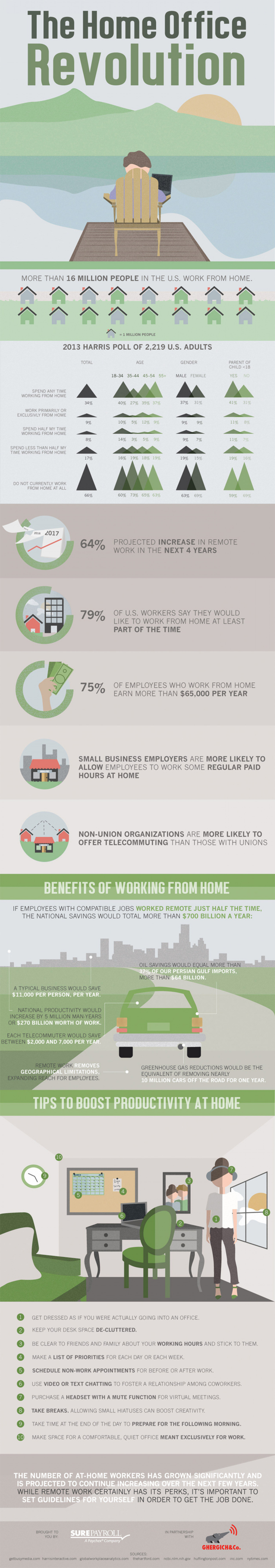 The Home Office Revolution Infographic