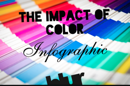 The Impact Of Color - The Use Of Color Online Infographic
