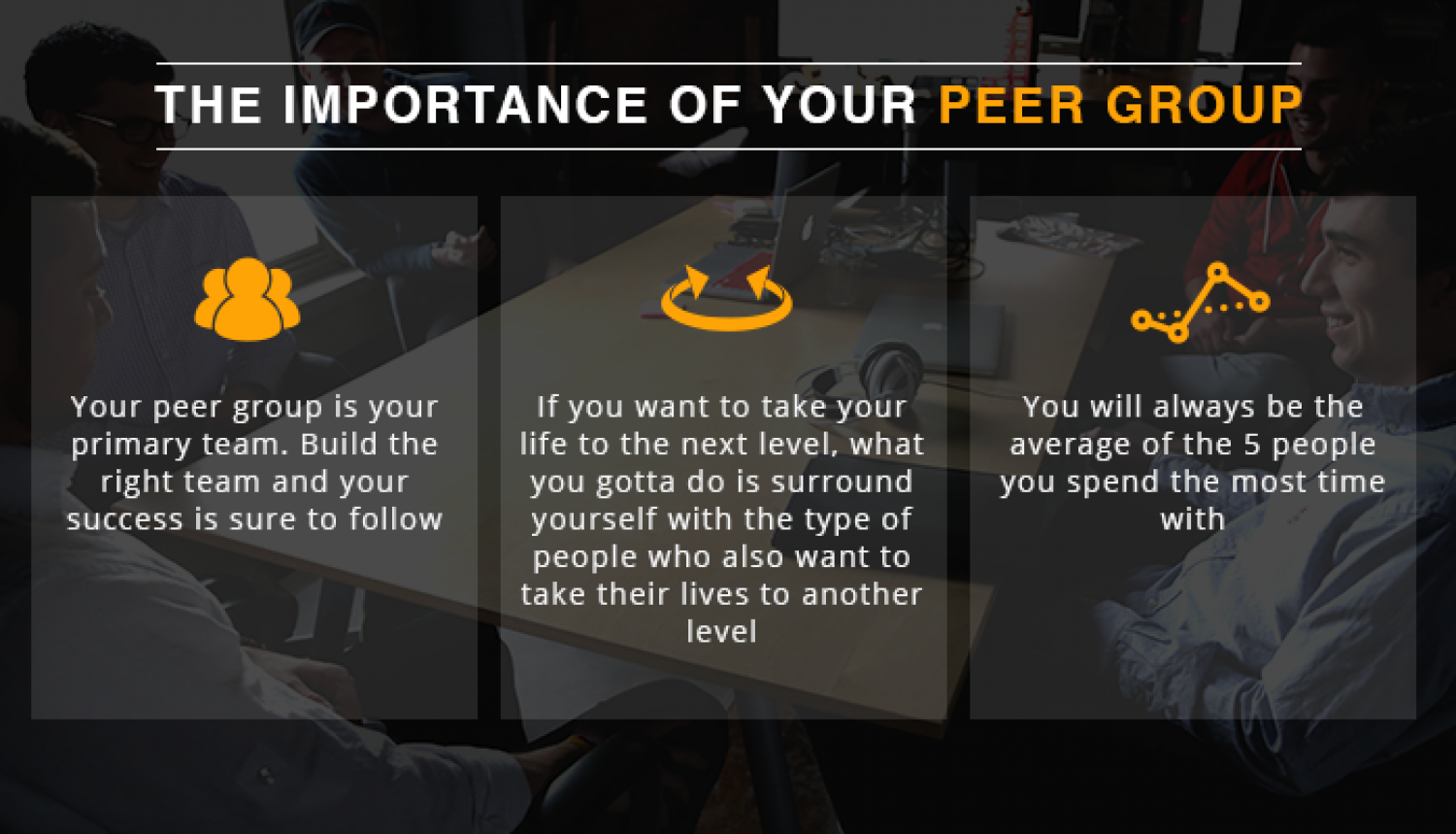 The Importance Of A Peer Group  Infographic