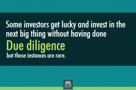 The importance of conducting due diligence on start-ups Infographic