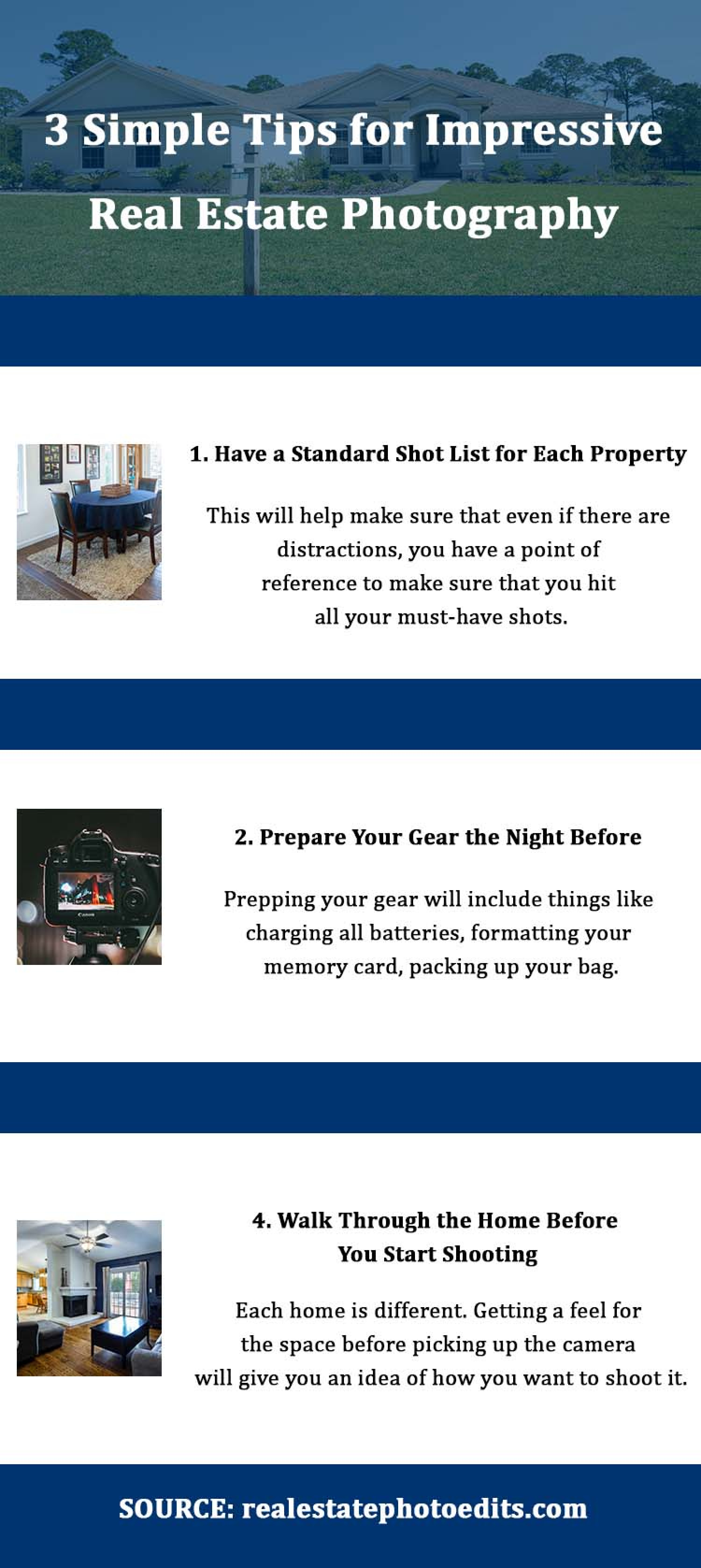 The Importance of Real Estate Photographers Infographic