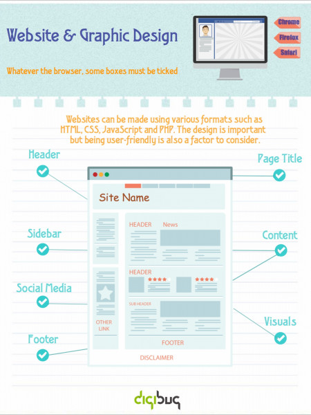 Website & Graphic Design Infographic