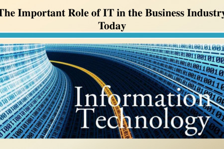 The Important Role of IT in the Business Industry Today Infographic