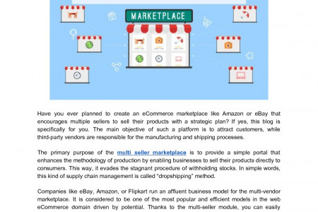 The Ingenious Benefits of Opening a Multi Seller Marketplace Infographic
