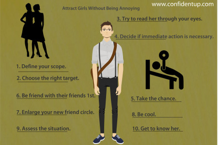 The Insider Guide Of How To Attract Girls In College Infographic