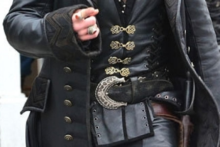 The Jacket of  Captain Hook from Once Upon a Time Infographic