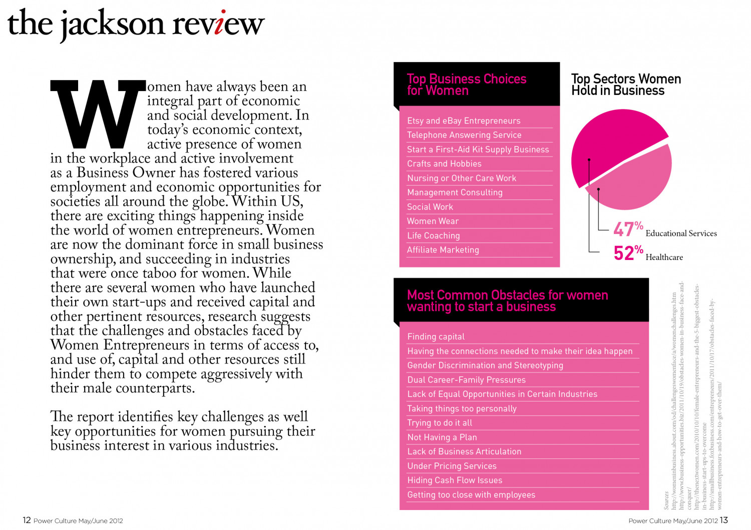 The Jackson Review Infographic