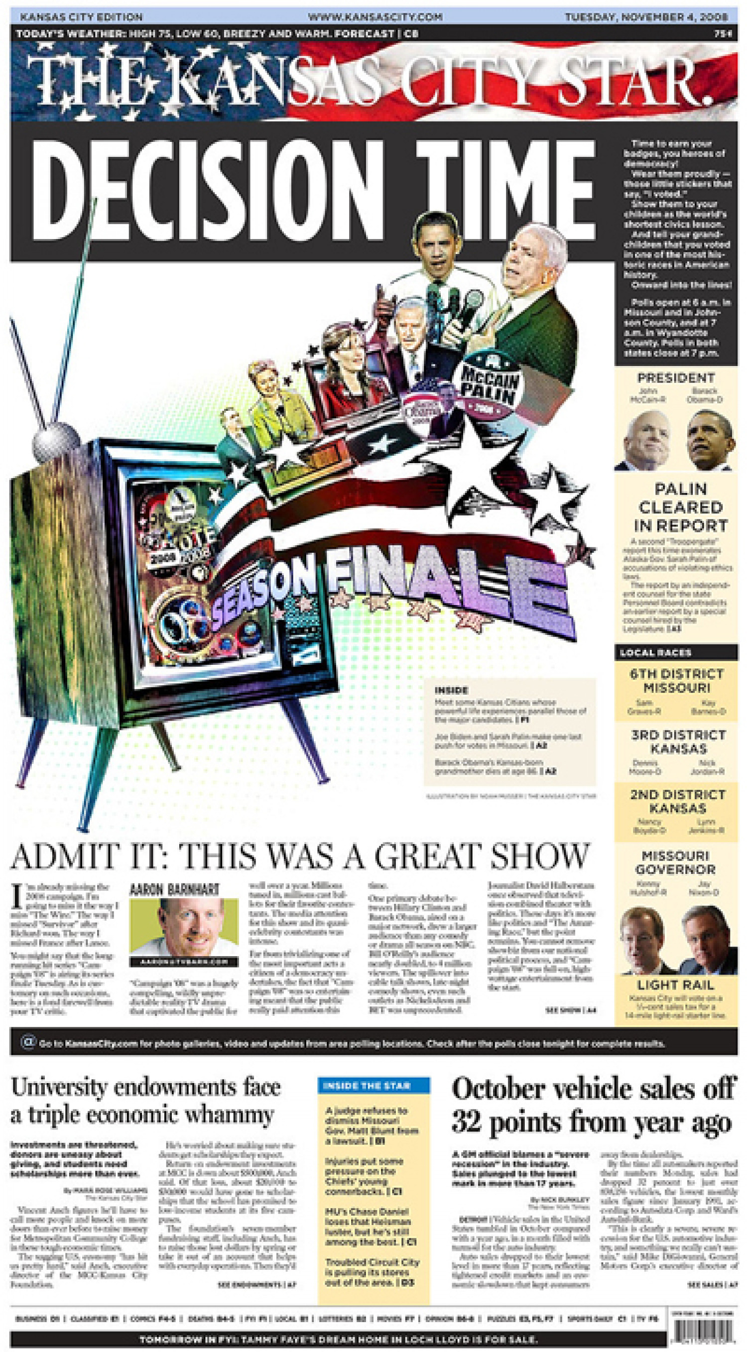 The Kansas City Star: Decision Time Infographic