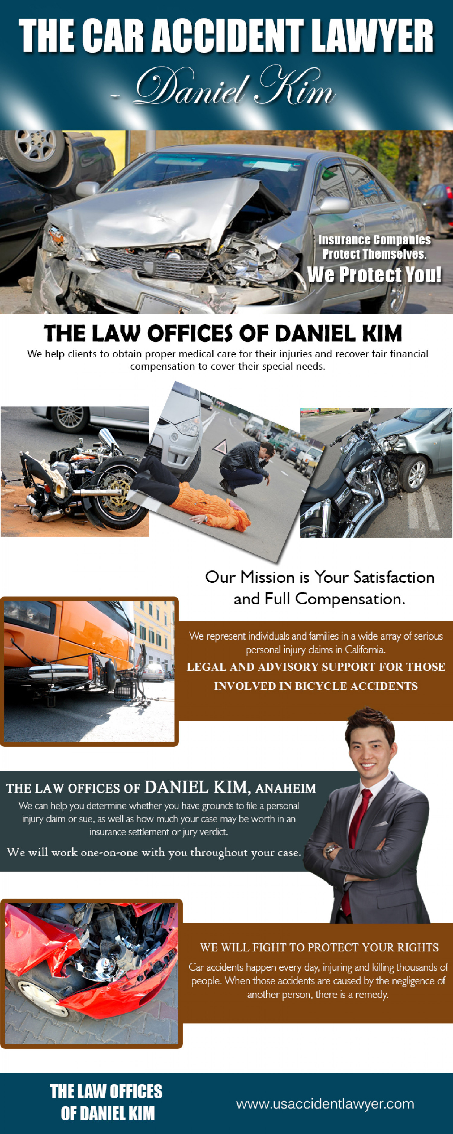 The Law Offices of Daniel Kim Infographic