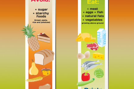 The LCHF Diet Infographic