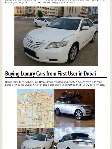 The Leading Classifieds For Used Car Sale At Oforo Com Visual Ly