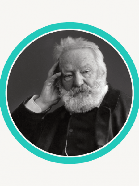 The Life & Habits Of Victor Hugo Infographic