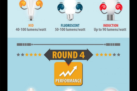 The Light Fight HID, Fluorescent, & Induction Bulbs  Infographic