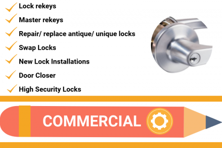 The Locksmith Guys Services Infographic