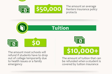 The Lowdown on Student Insurance  Infographic