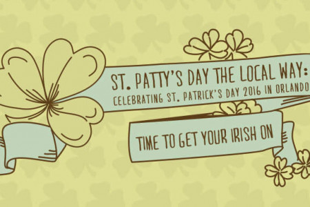 The Luck of the Infographic: Your Guide to St. Patrick's Day Fun in Orlando Infographic