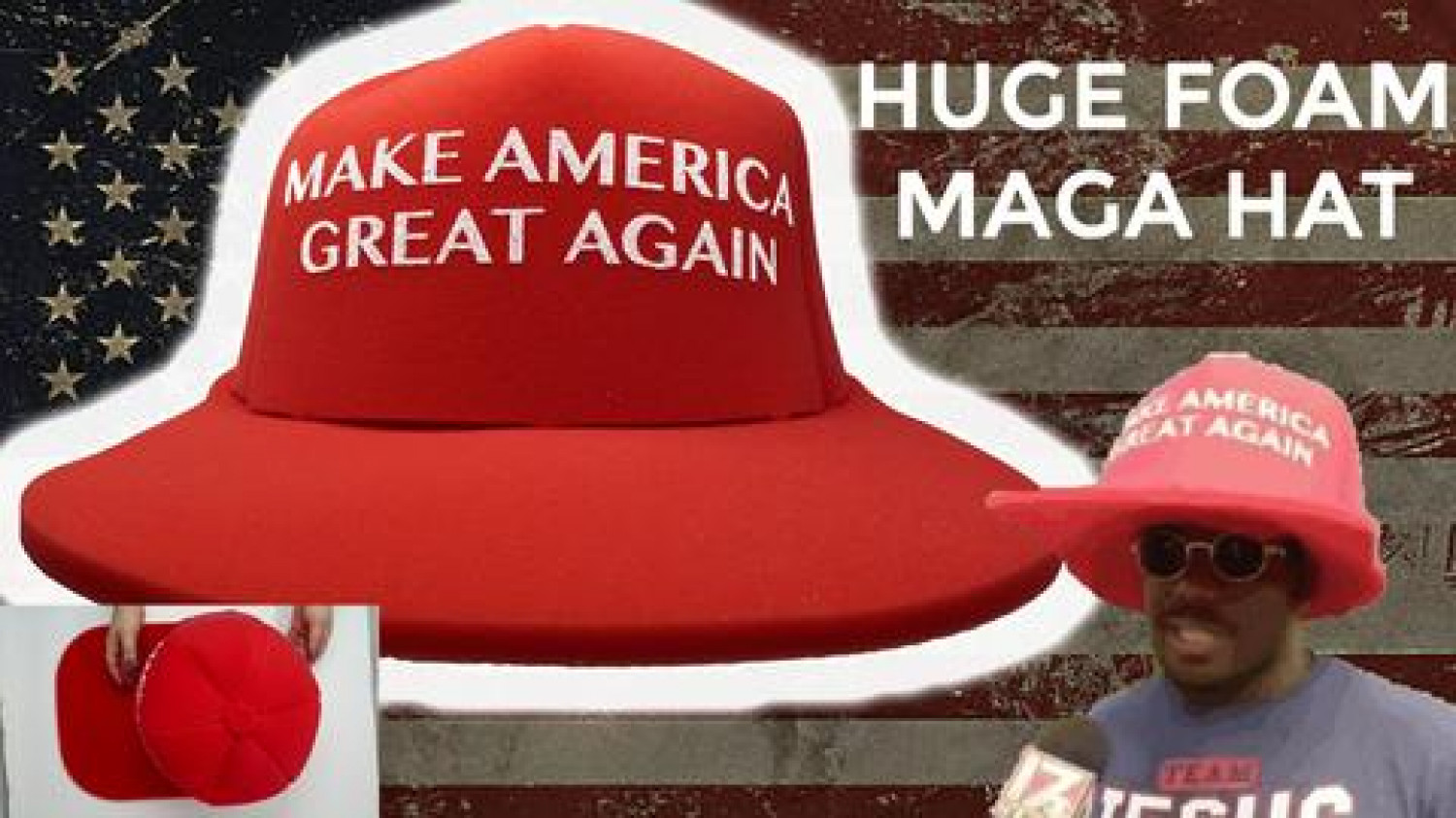 The Makings Of The HUGE MAGA Hat Infographic