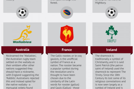 The Meaning Behind Sports Teams' Crests Infographic
