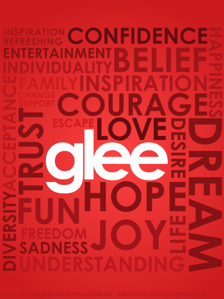 The Meaning of Glee Infographic