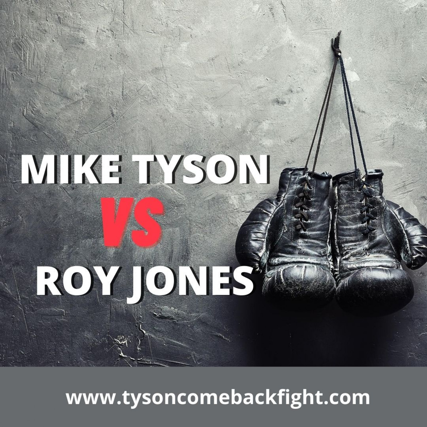The Mike Tyson Vs Roy Jones Boxing Match Infographic