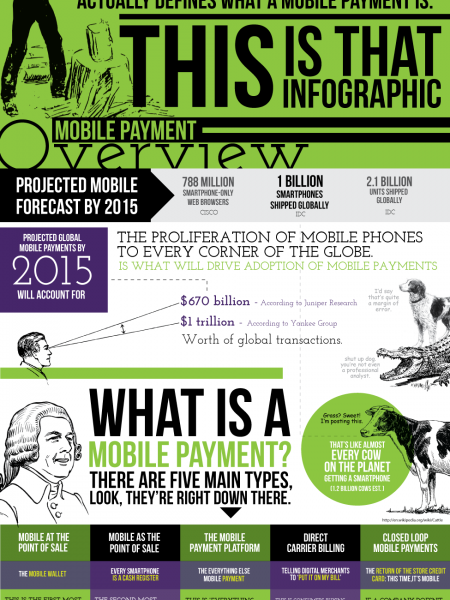 The Most Important Mobile Payment Infographic, Ever Infographic