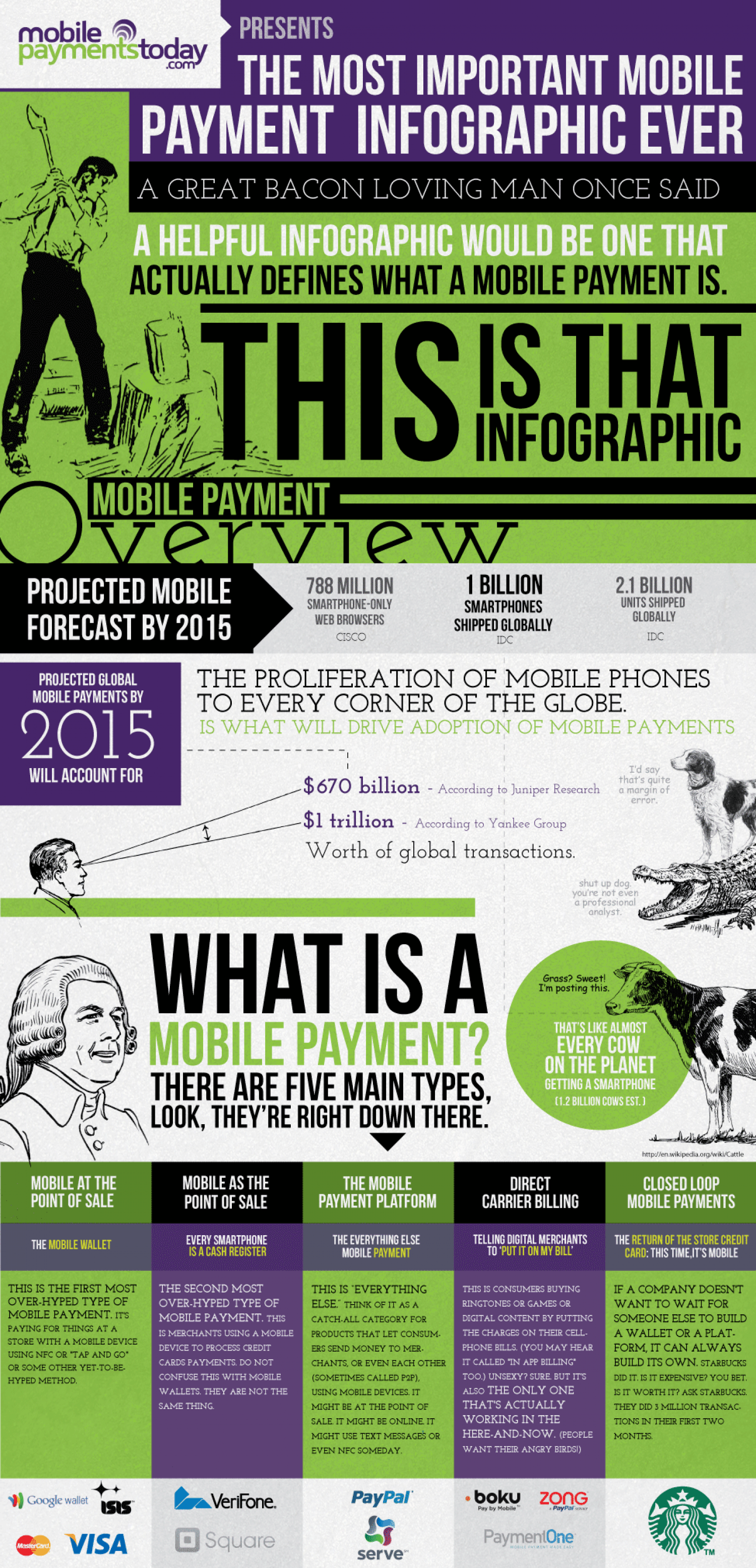 The Most Important Mobile Payment Infographic