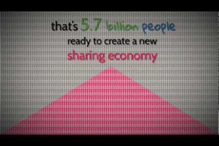 The Numbers Behind the Sharing Economy Infographic