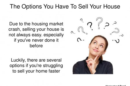 The Options You Have To Sell Your House Fast Infographic