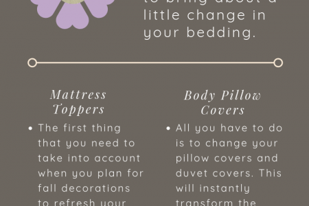 The Perfect Fall Bedroom Decoration Ideas Infographic