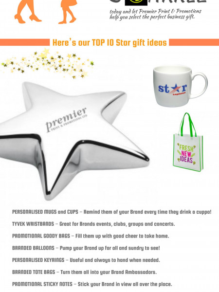 The Perfect Gifts To Make Your Business Sparkle Brightly Infographic