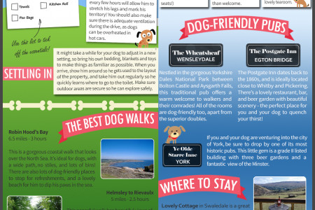 The Pet Friendly Holiday Guide Infographic