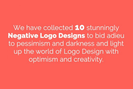 The Positive Side of Negative Space Logo Designs  Infographic