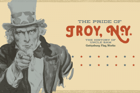 The Pride of Troy, NY: The History of Uncle Sam Infographic