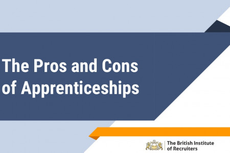 The Pros and Cons of Apprenticeships Infographic