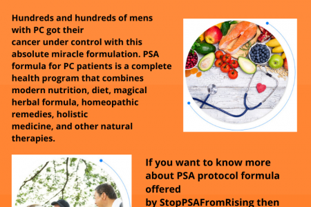 The PSA Formula for PC Patients to get Cancer under control | StopPSAFromRising Infographic