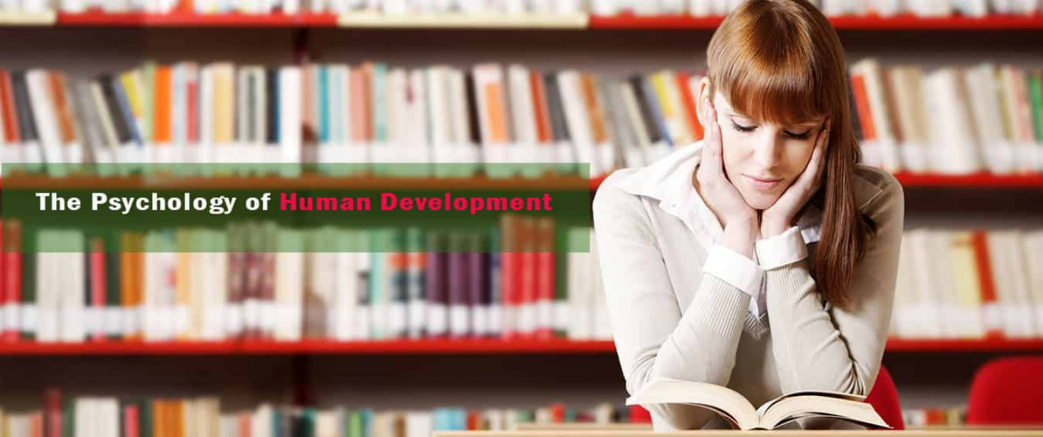 The Psychology of Human Development Infographic