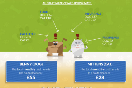 The Real Cost of Owning a Pet Infographic