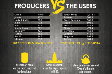 The Real Facts of Steel Infographic