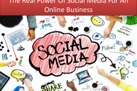 The Real Power Of Social Media For An Online Business Infographic