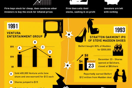 The Real Wolf of Wall Street Infographic