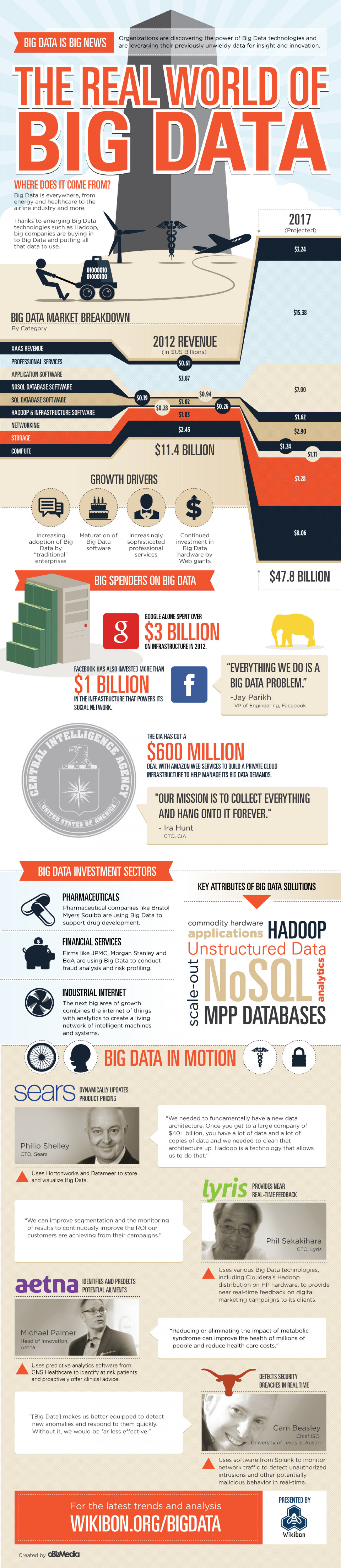 The Real World of Big Data Infographic
