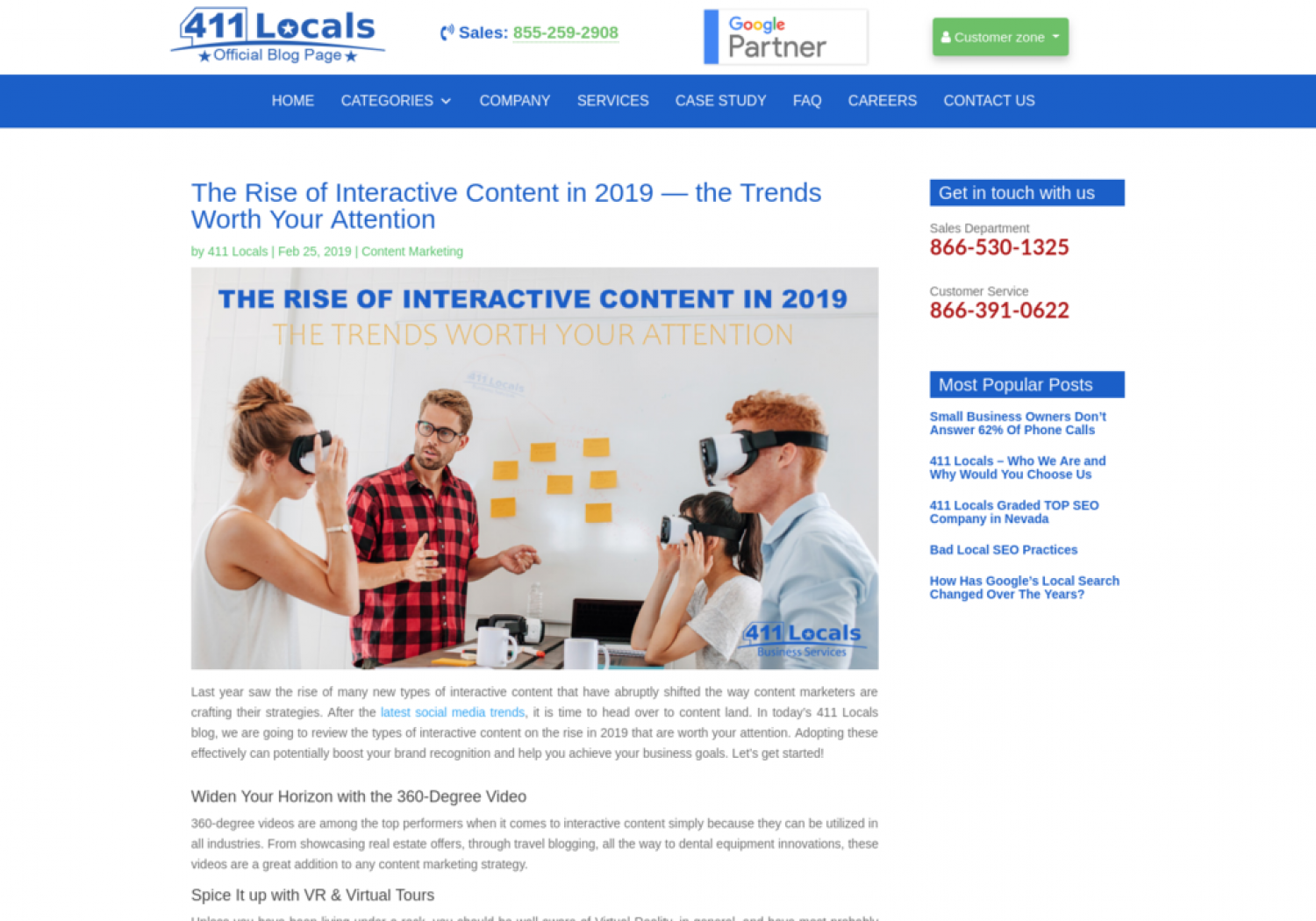 The Rise of Interactive Content in 2019 — the Trends Worth Your Attention Infographic