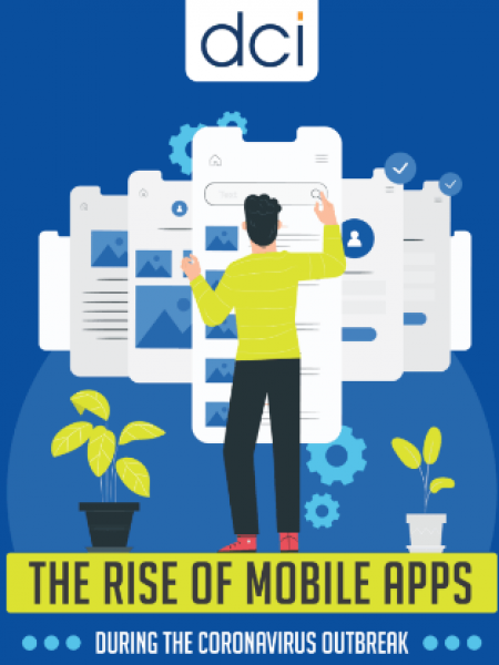 The Rise Of Mobile Apps During the Coronavirus Outbreak Infographic