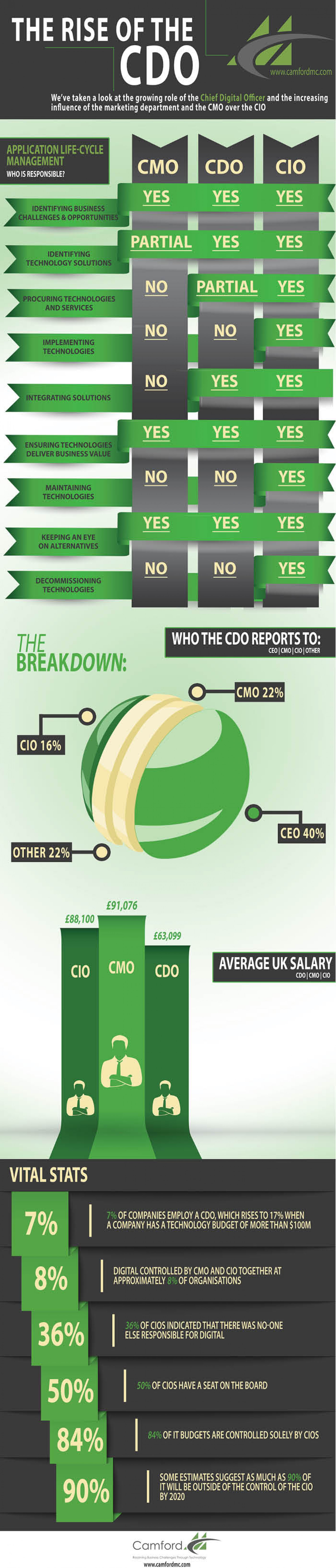 The Rise of the CDO Infographic