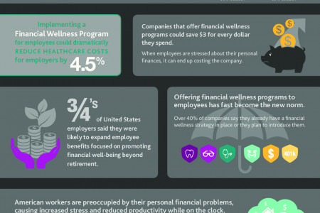 The ROI of Employee Financial Literacy Infographic