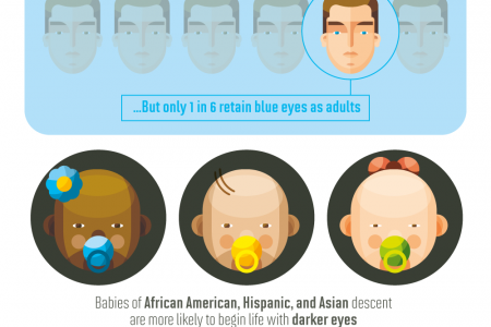 The Sccientific Meaning Of Eye Color Infographic